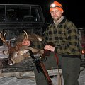 Eight point whitetail deer from january 2013