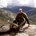 My friend Victor whit an Ibex