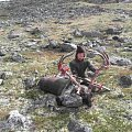 reindeerbull in norway. current number one sci world record